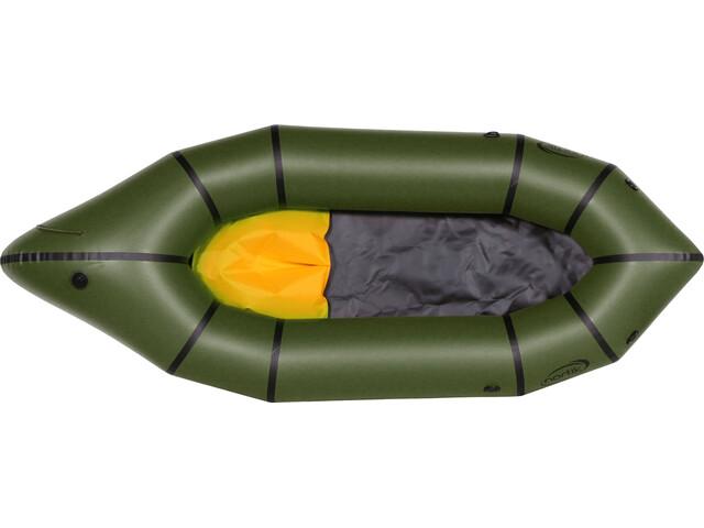 nortik TrekRaft Schlauchboot dunkelgrün/schwarz